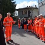 Vescovo Camisasca in visita alla Croce Verde Alto Appennino